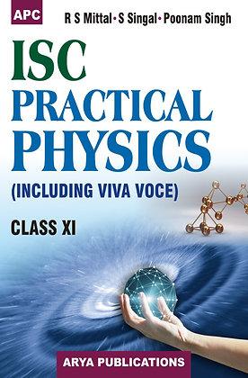 I.S.C. Practical Physics (Including Viva Voce) Class- XI