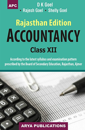 Accountancy, Class-XII (Rajasthan Edition)