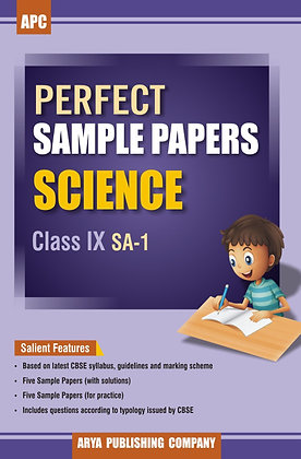 Perfect Sample Papers Science Class IX SA-1