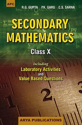 Secondary Mathematics Class- X