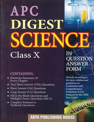 APC Digest Science Class- X