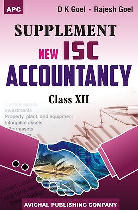 New ISC Accountancy - XII (Supplement)