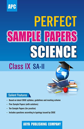 Perfect Sample Papers Science Class IX SA-II