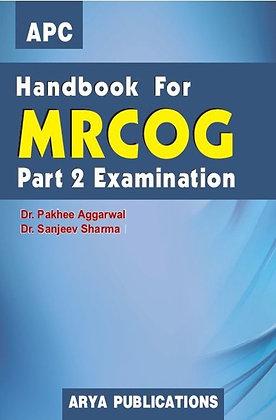 Handbook for MRCOG Part 2 Examination