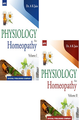 Physiology For Homeopathy (Set of 2 vols.)