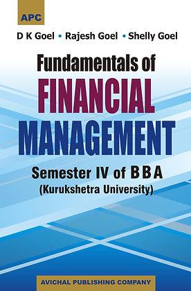 Fundamentals of Financial Management Semester IV of BBA (KU)