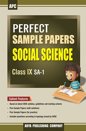 Perfect Sample Papers Social Science Class IX SA-1