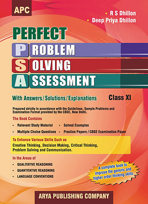Perfect Problem Solving Assessment with Answers/Solutions/Explanations Class-XI