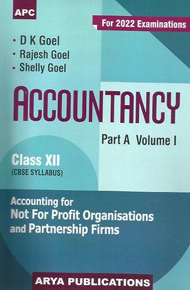 Accountancy Class- XII (Part-A) Vol-I