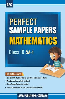 Perfect Sample Papers Mathematics Class IX (SA-1)