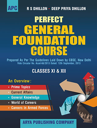 Perfect General Foundation Course Class- XI & XII