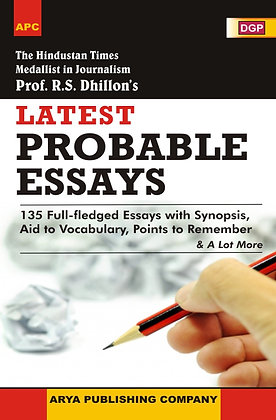 Latest Probable Essays