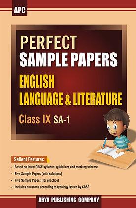 Perfect Sample Papers English Language & Literature Class IX (SA-1)
