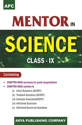 APC Mentor in Science Class- IX