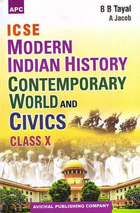 ICSE Modern Indian History, Contemporary World & Civics Class- X