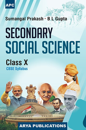 Secondary Social Sciences Class- X
