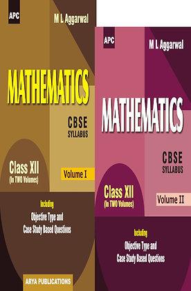 Mathematics (Including Value Based Questions) (Vol. I & II) Class- XII