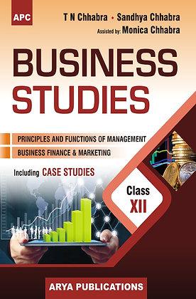 Business Studies (Including Case Studies) Class- XII