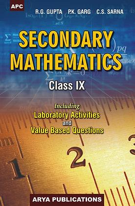 Secondary Mathematics Class- IX