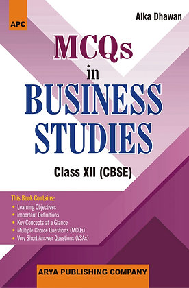 MCQs in Business Studies- XII