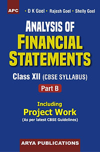 Analysis of finanacial statements