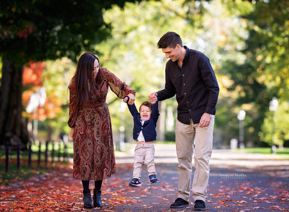 family fall photo session