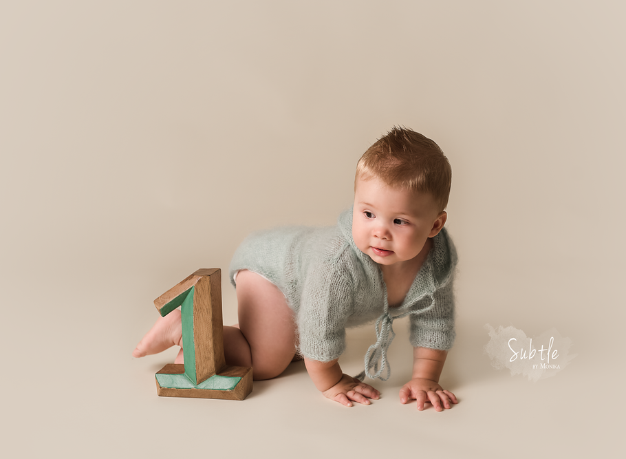 1st b-day photo session