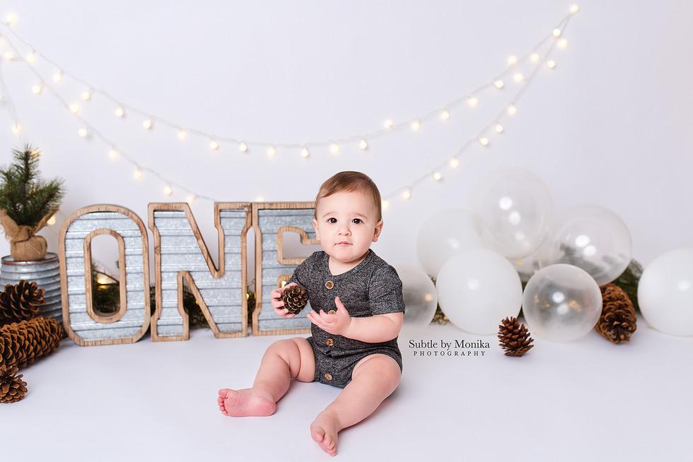 birthday boy photo session