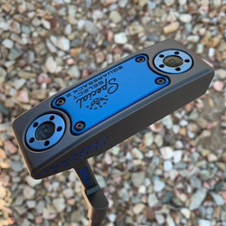 Black Shadow PVD with Blue Anodised Sole Plate