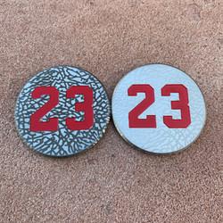 23 Elephant Print Ball Markers
