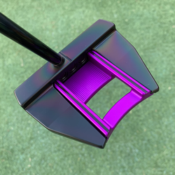 Black Rainbow PVD with Purple Anodise Sole Plate
