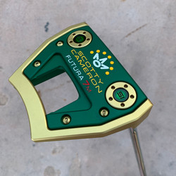 Gold PVD with Green Anodised Sole Plate