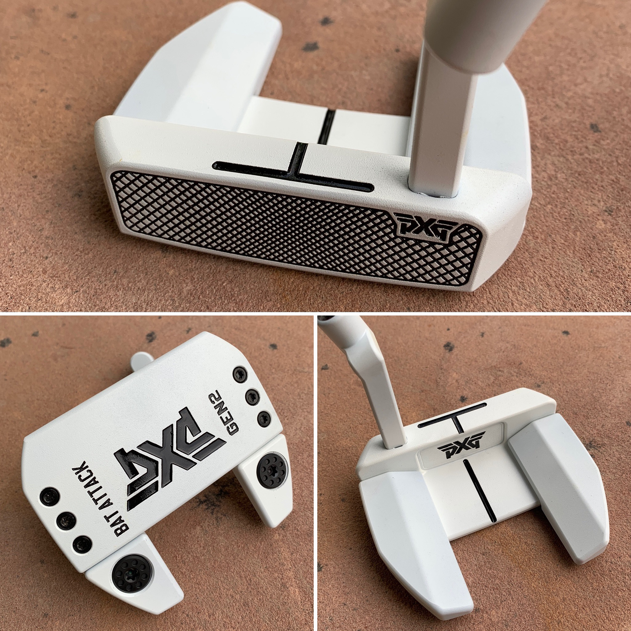 White Polymer PXG Bat Attack