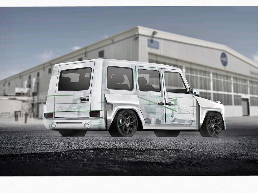 mercedes G Wagon wide body