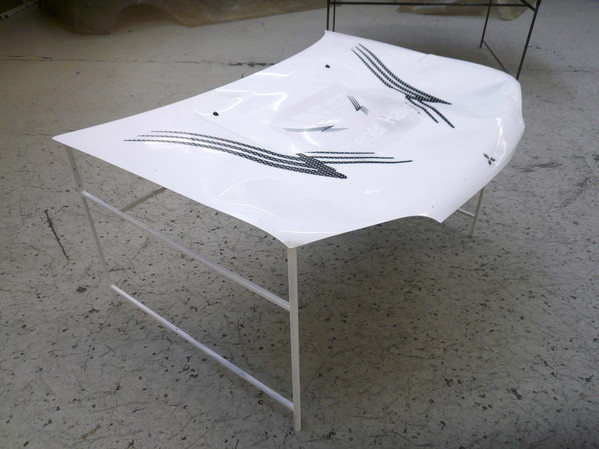 crashed table