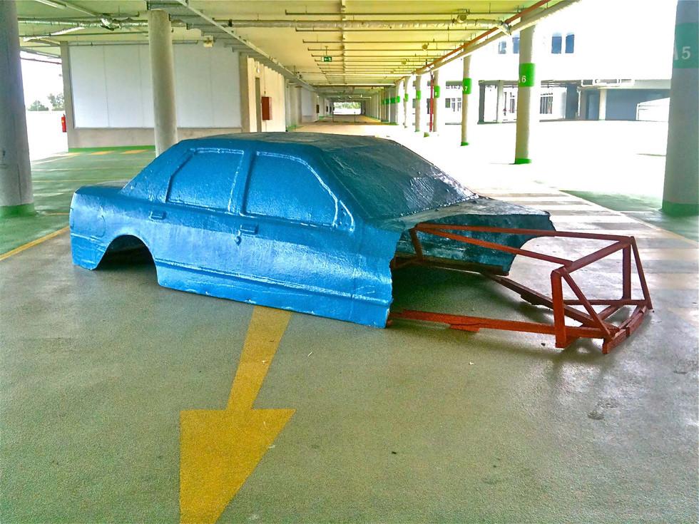 car exhibition veiw