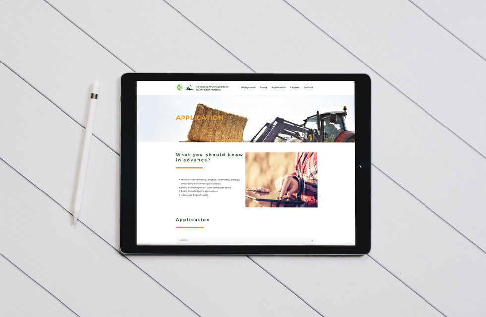 Webdesign for BOKU - The University of Natural Resources and Life Sciences