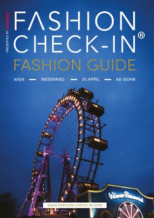 Print design for Fashion Check-In