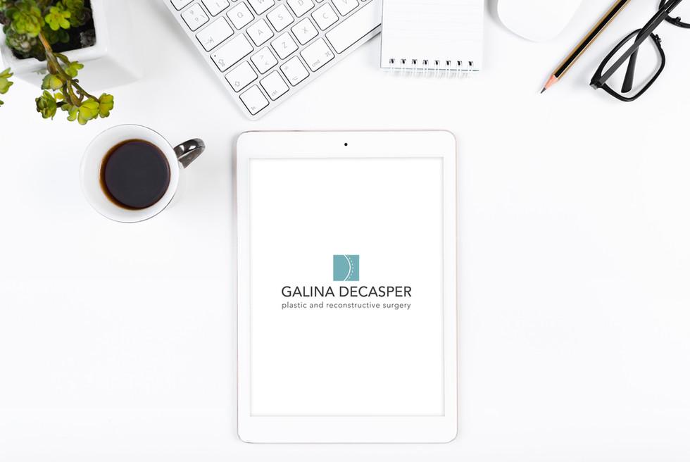 GALINA DECASPER LOGO DESIGN
