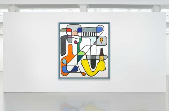 Reinforced Mondrian Drinks, 2019