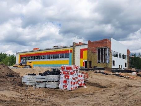 Продолжаем следить за строительством нового ФОКа в округе Варавино-Фактория!