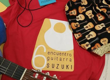 VI incontro chitarra Suzuki a Barcellona