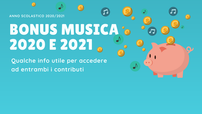 Bonus musica 2020 e 2021: che differenza c'è?