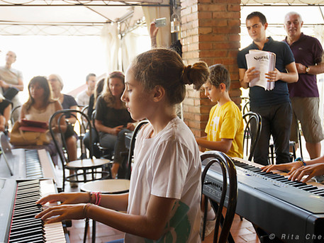 Gruppi di pianisti: ecco il calendario degli incontri
