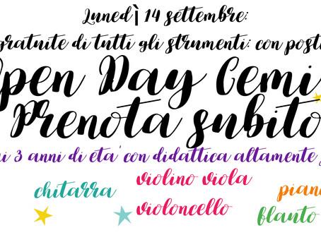 Open Day CEMI: conosciamoci!