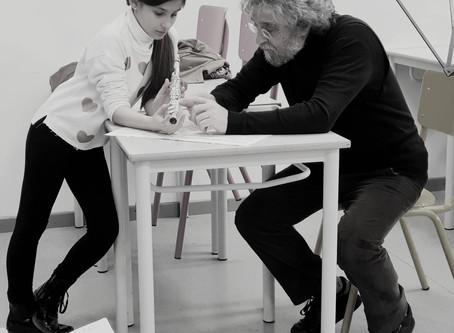 MASTER CLASS di Flauto col Maestro Enzo Caroli per Allievi e Docenti