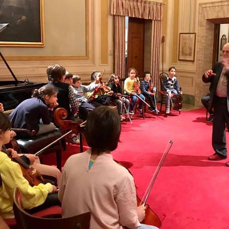 Corso di improvvisazione presso l'Accademia Filarmonica