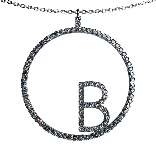 A Lettered Necklace