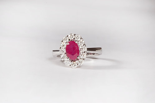 Sizeable Ruby Ring