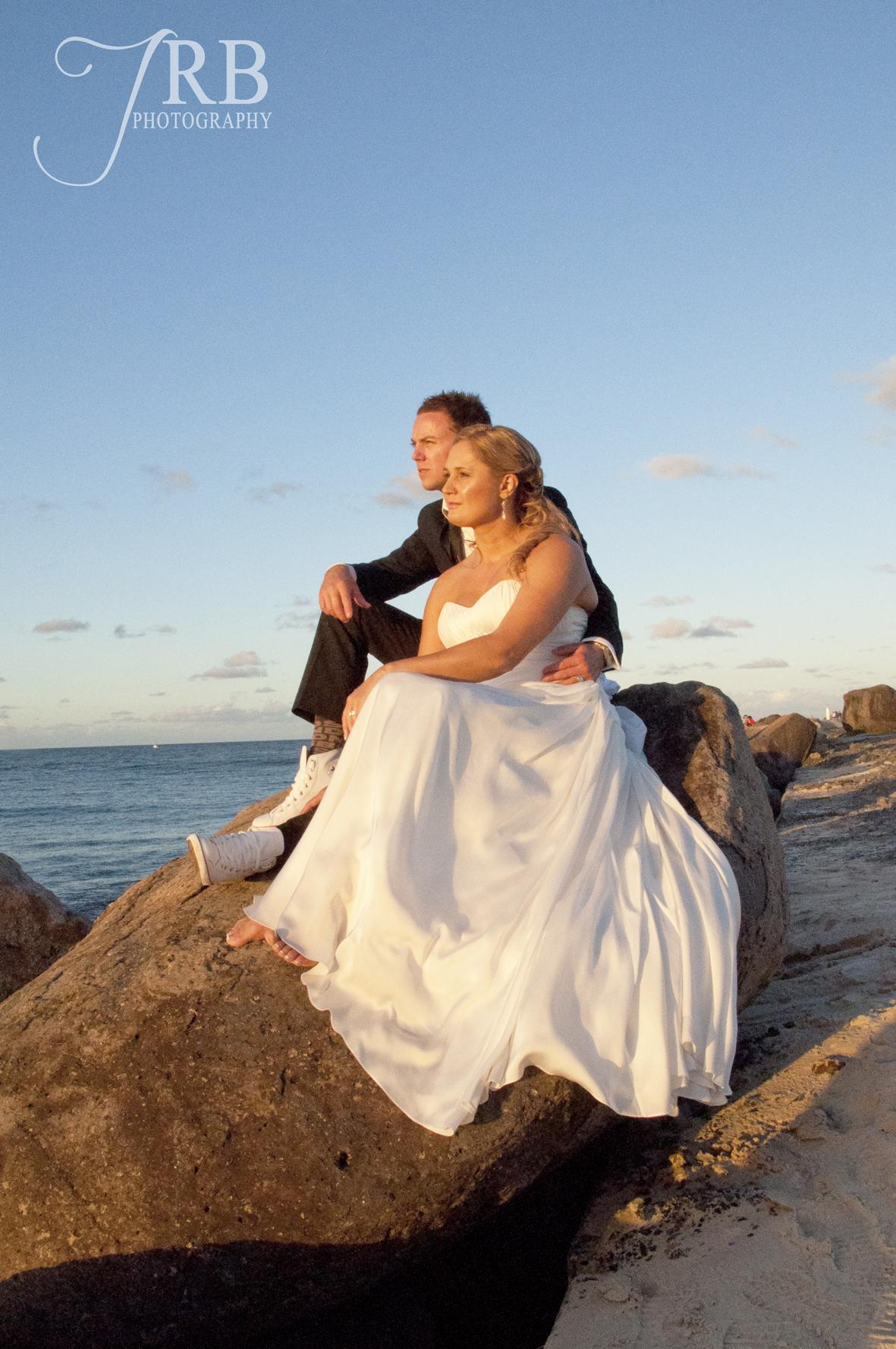 Lucinda & Dale's Beach Dream